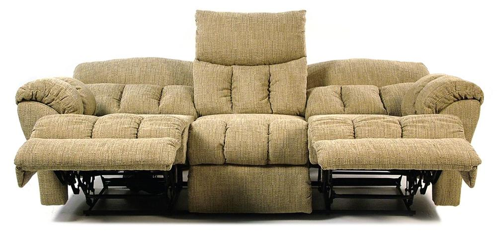 Design To Recline Full Relaxer Lay Flat Reclining Sofa