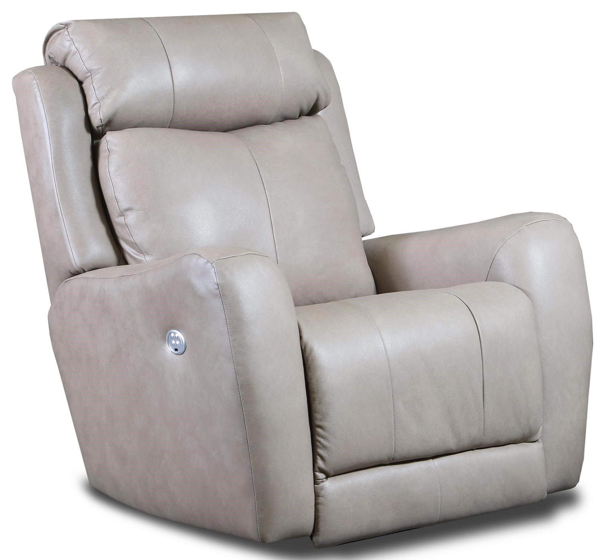 Leather Power Recliner 957-17
