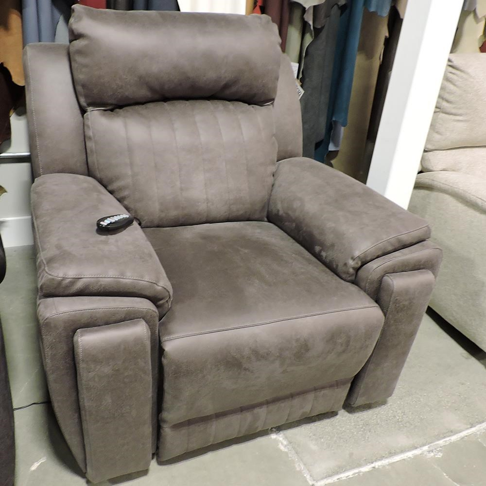 Power Headrest Recliner With Massage
