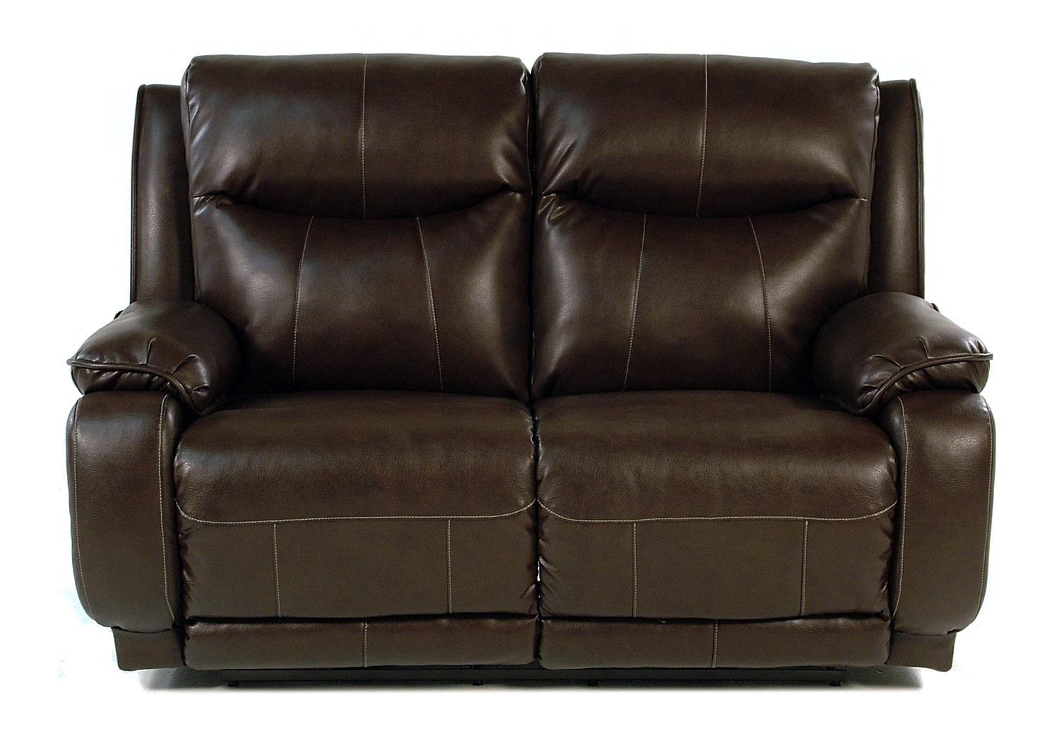 Design to Recline Power-Max Power Reclining Loveseat w/ Power Headrest - Item Number: 875-51P