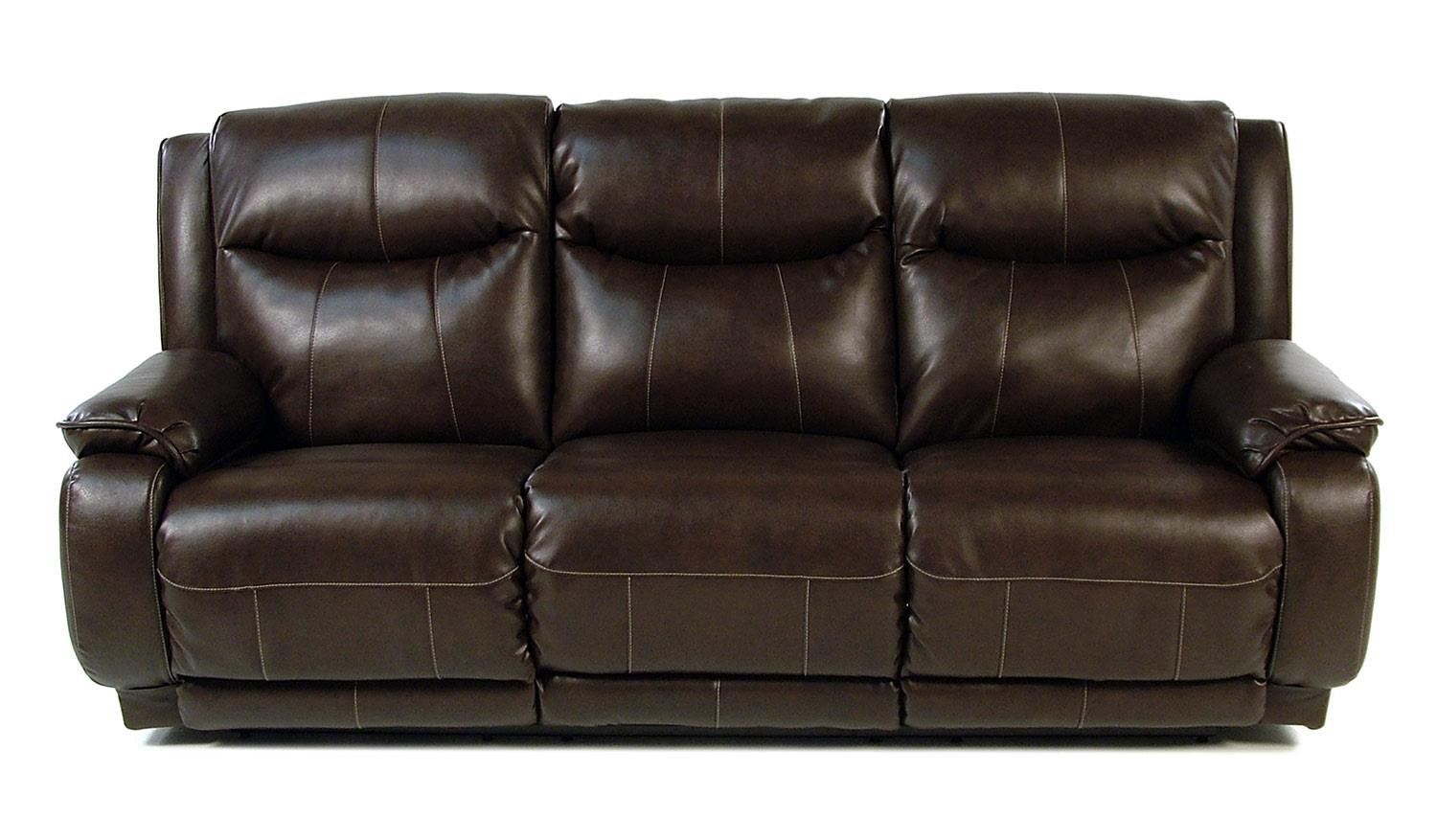 Design to Recline Power-Max Power Reclining Sofa w/ Power Headrest - Item Number: 875-61P