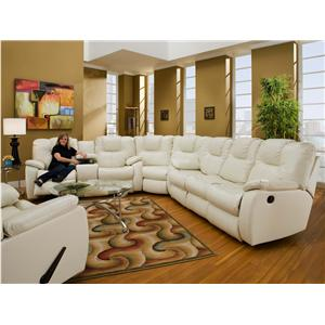 Southern Motion Avalon 3 Pc. Sectional  sc 1 st  Sheelyu0027s Furniture u0026 Appliance & Reclining Sectional Sofas | Ohio Youngstown Cleveland ... islam-shia.org