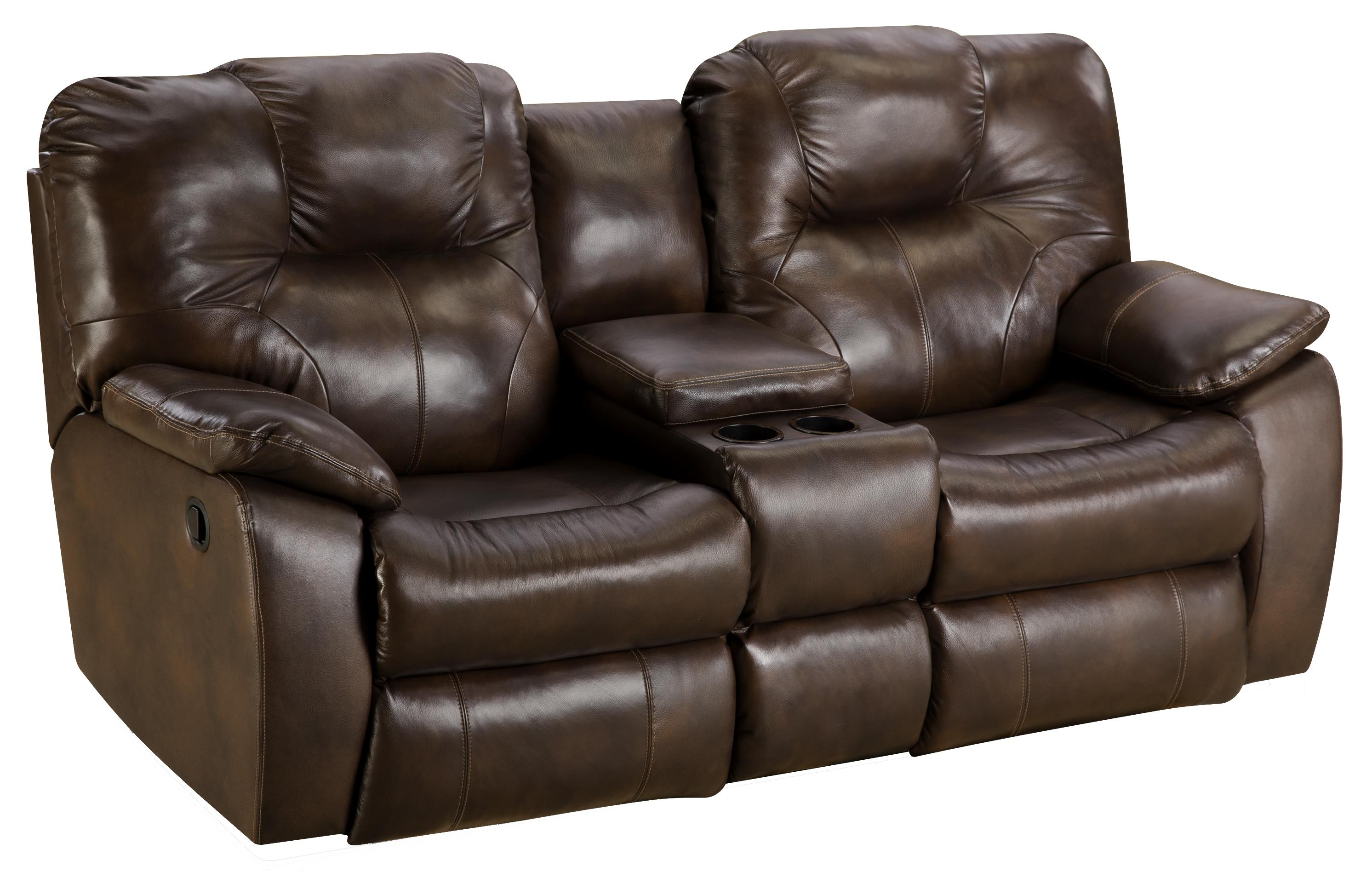 Southern Motion Avalon Reclining Sofa With Console