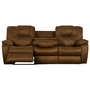 Southern Motion Avalon Power Sofa with Drop Down Table