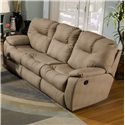 Southern Motion Avalon Power Sofa with Drop Down Table and Comfortable Cushioning - Sofa Shown May Not Represent Exact Features Indicated