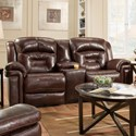 Southern Motion Avatar Double Reclining Console Sofa - Item Number: 843-28-906-23