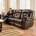 Southern Motion Avatar Double Reclining Power Headrest Sofa - Item Number: 843-61P-906-26