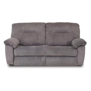 ComfortZone Big Shot Double Reclining Sofa with Two Seats