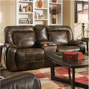 Southern Motion Bono Double Reclining Console Sofa