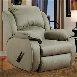 Design to Recline Cagney Powerized Rocker Recliner