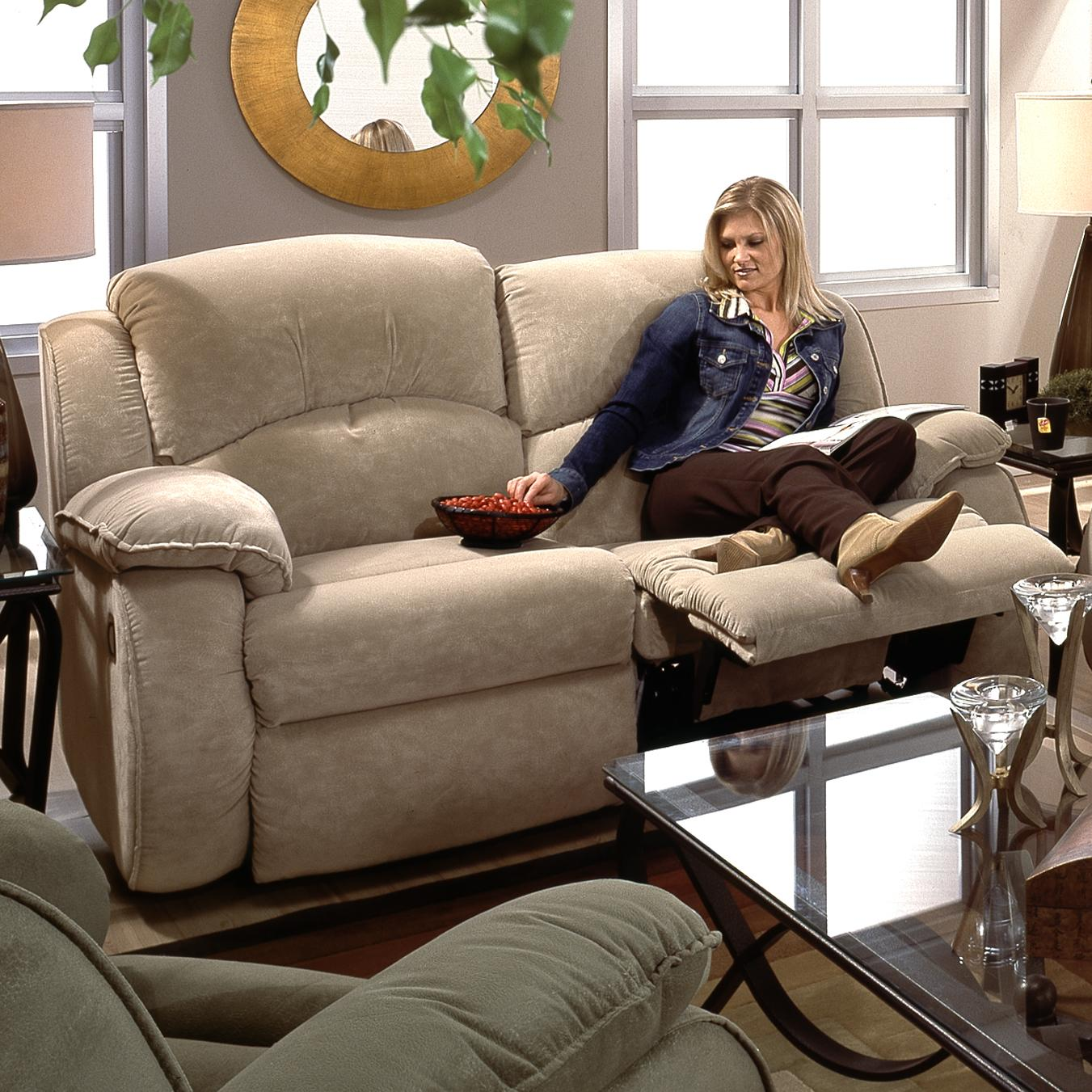 Belfort Motion Cagney Double Reclining Loveseat - Item Number: 705-21