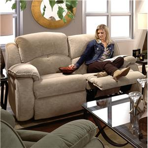 Design to Recline Cagney Double Reclining Loveseat