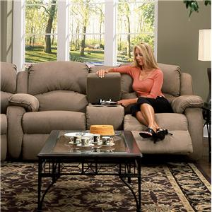 Design to Recline Cagney Console Sofa