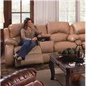 Design to Recline Cagney Console Sofa - Item Number: 705-28L