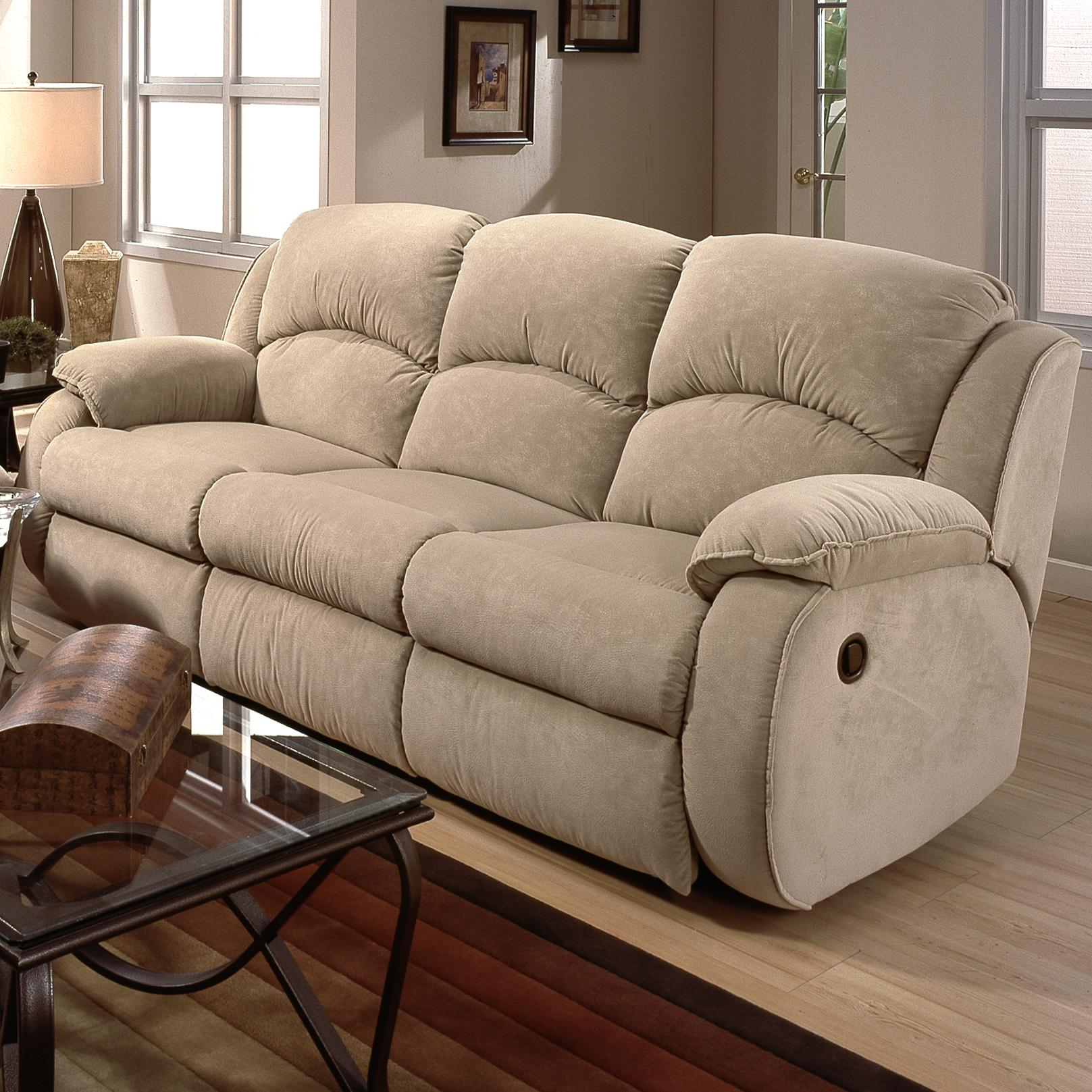 Belfort Motion Cagney Double Reclining Sofa - Item Number: 705-31