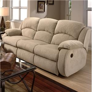 Design to Recline Cagney Powerized Double Reclining Sofa