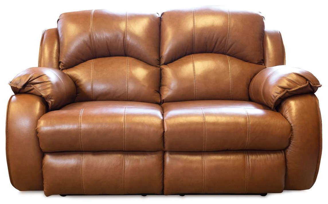 Megan Power Reclining Leather Loveseat by Design to Recline at Rotmans