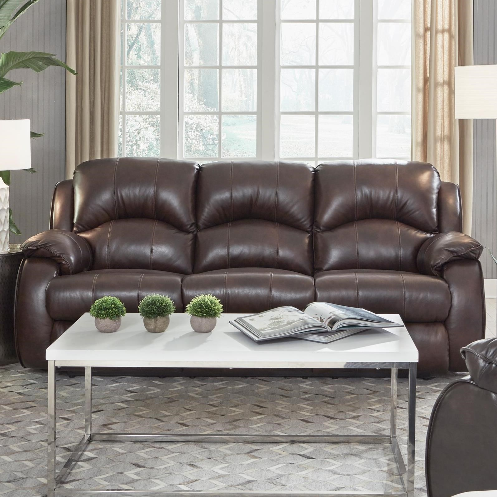 Cagney Power Headrest Reclining Sofa by Southern Motion at Darvin Furniture