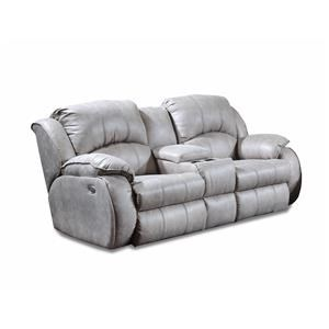 Power Reclining Console Sofa