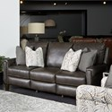 Southern Motion Cameron Cove Double Reclining PowerPlus Sofa with Pillows - Item Number: 681-32PLUS-970-14