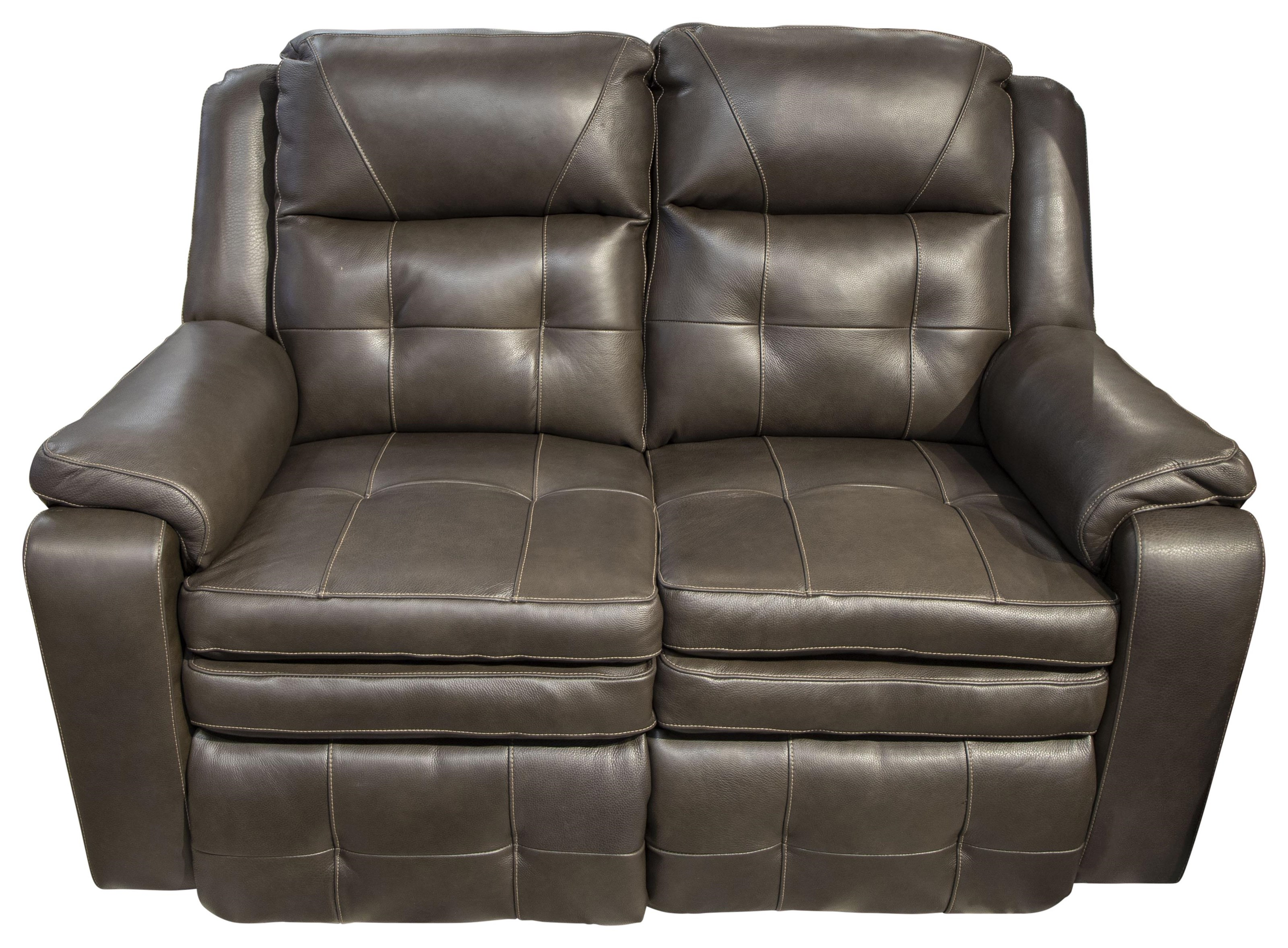 Castiel Castiel Leather Power Loveseat by Southern Motion at Morris Home