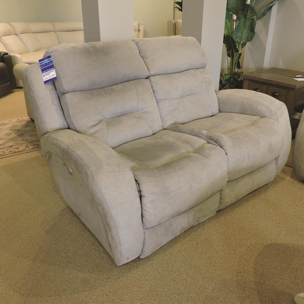 Clearance Power Headrest Loveseat by Belfort Motion at Belfort Furniture