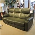 Belfort Motion Clearance Silas Power Headrest Reclining Sofa - Item Number: 5824574520