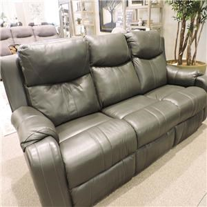 Silas Reclining Sofa With Power Headrest