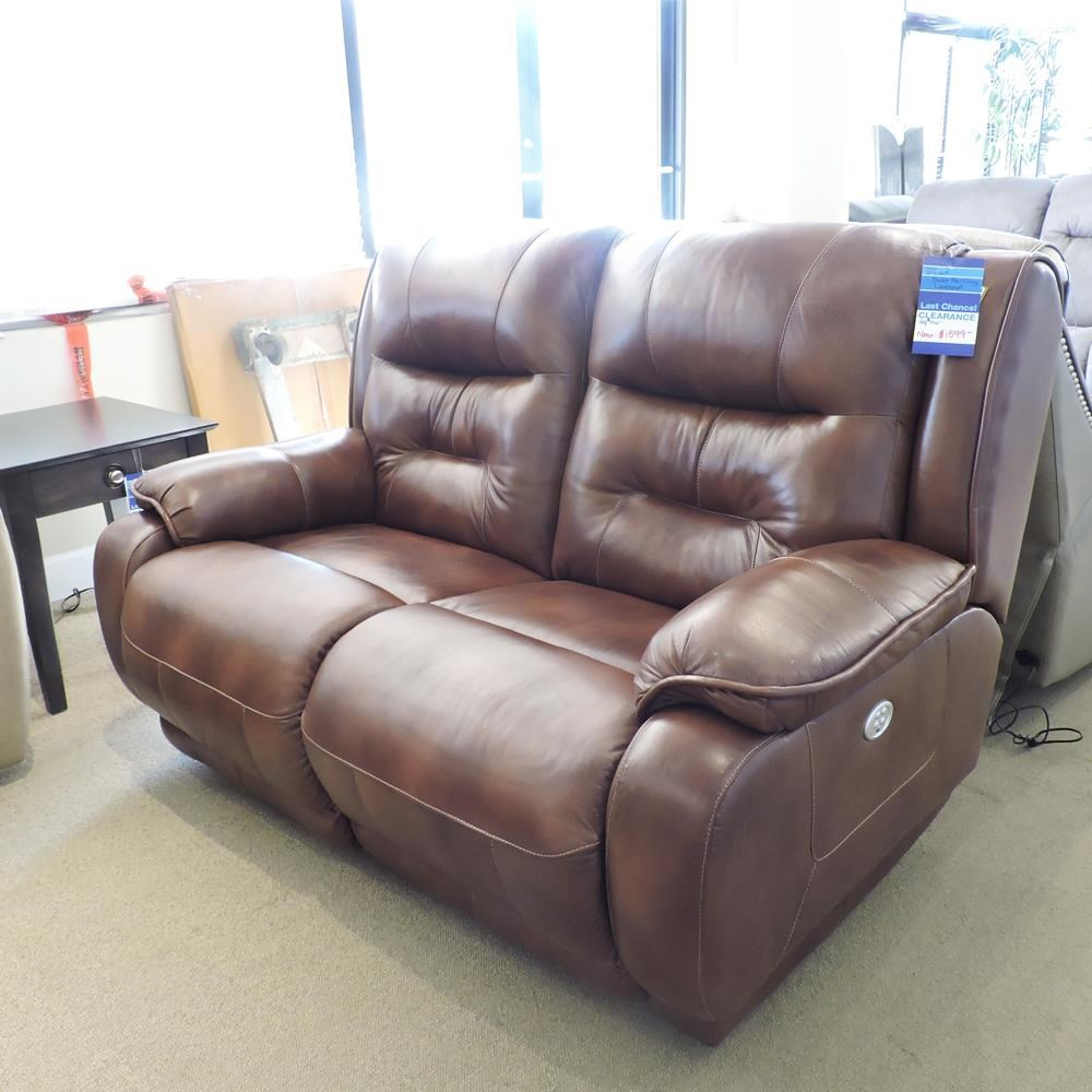 Clearance Double Reclining Loveseat by Belfort Motion at Belfort Furniture
