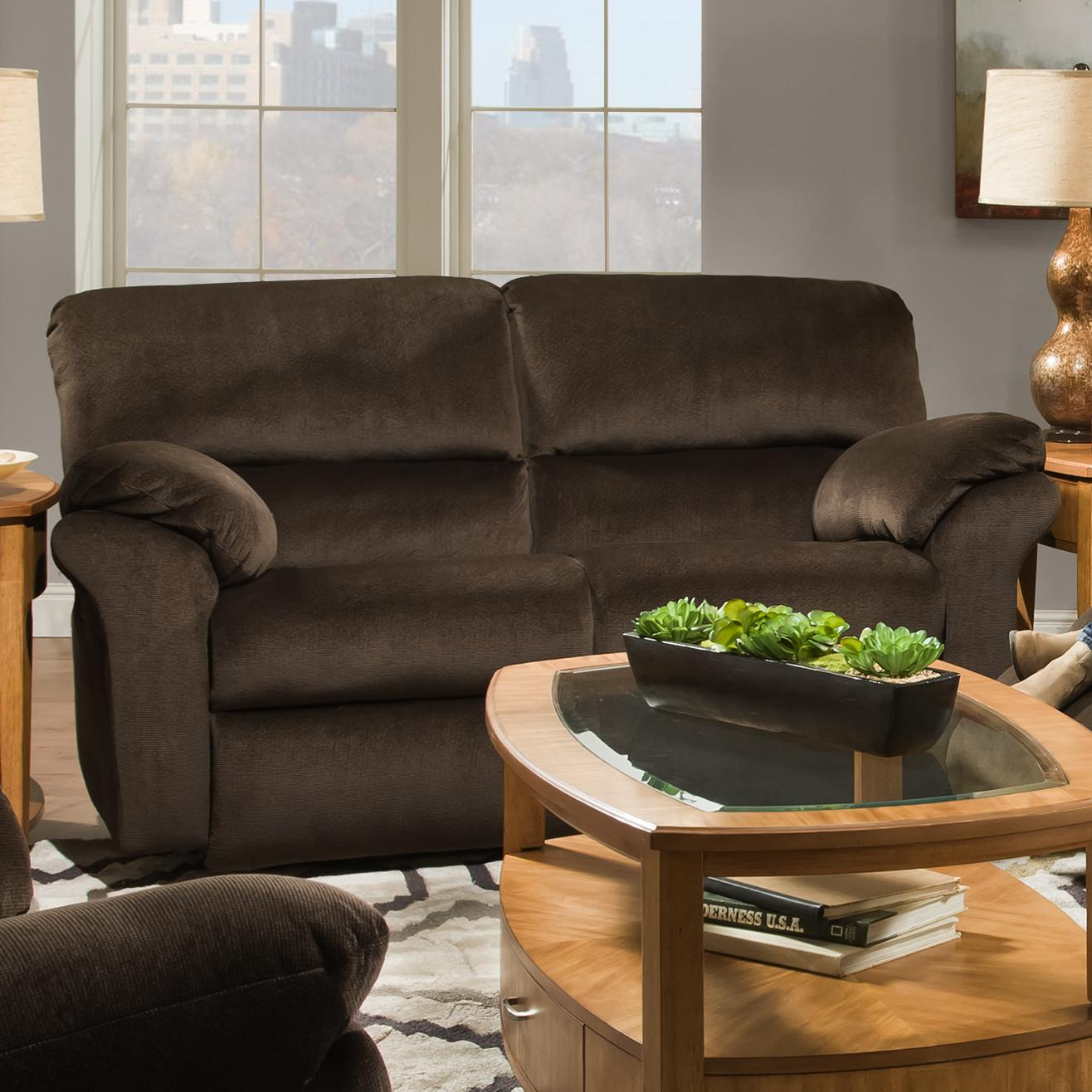 Southern Motion Cloud Nine Power Double Reclining Loveseat - Item Number: 849-21P-281-22