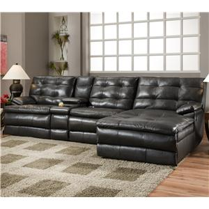 Southern Motion Comfortscapes  Reclining Sectional Sofa