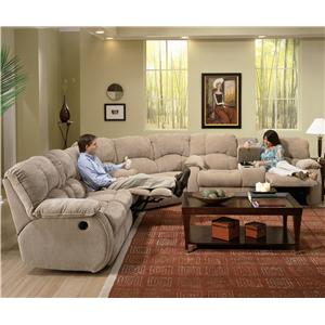 Southern Motion Continental 792 Sectional