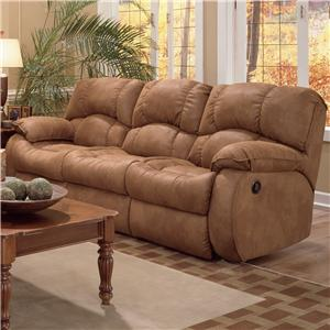 Southern Motion Continental 792 <b>Power</b> Double Reclining Sofa