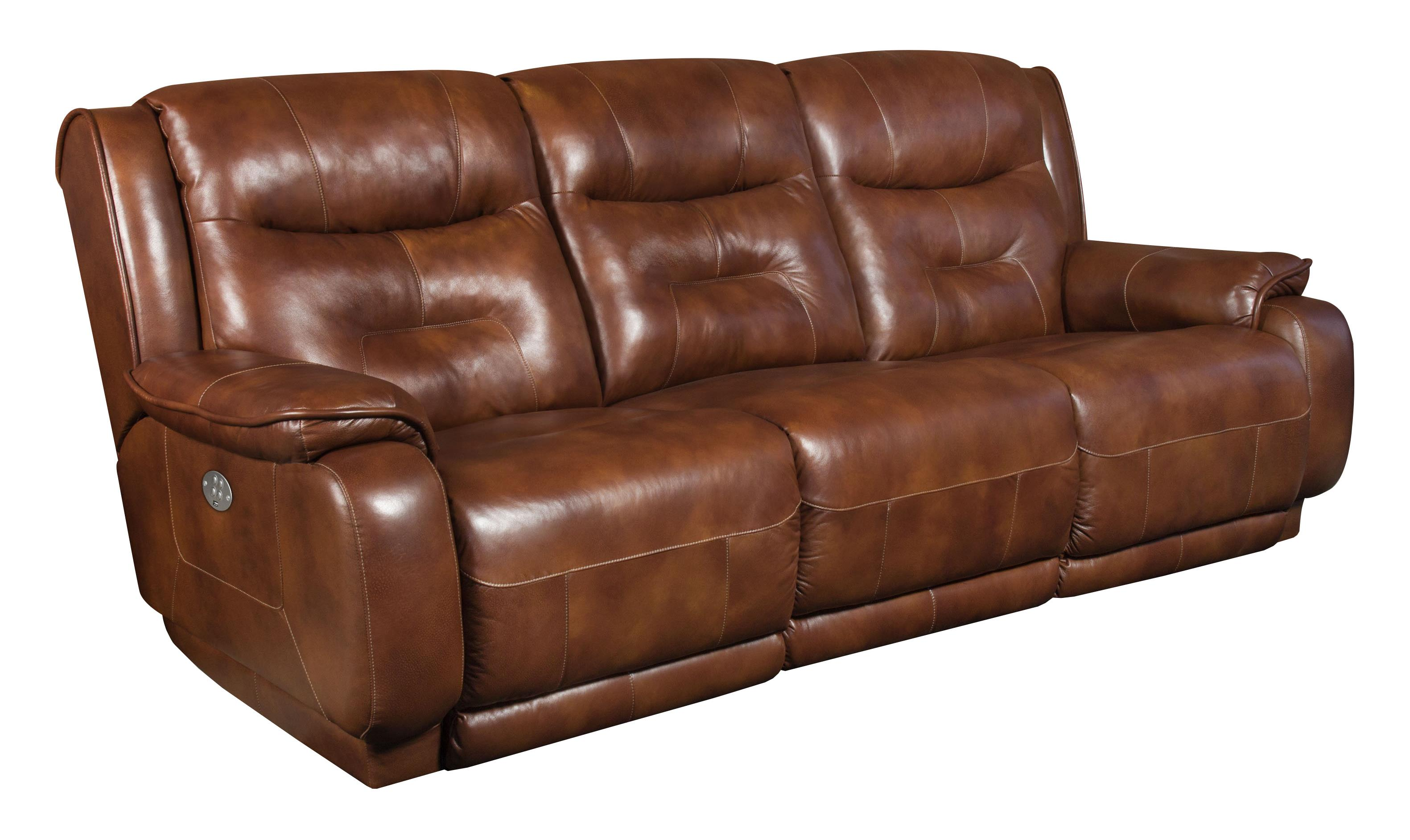 Southern Motion Crescent Double Reclining Sofa - Item Number: 874-31-906-21