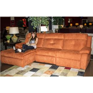 Southern Motion Dash  Power Reclining Sectional