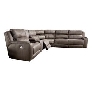 Power Plus Reclining Sectional Sofa
