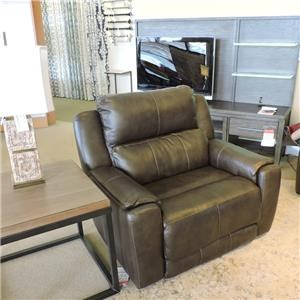 Belfort Motion Jax Power Recliner and Headrest