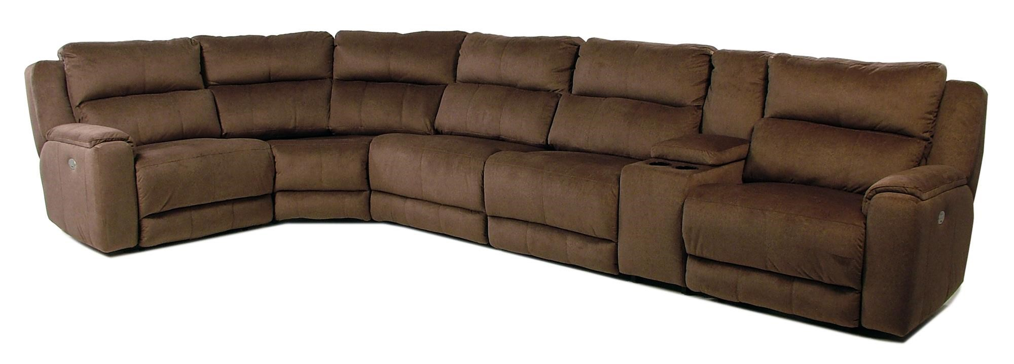 Design to Recline Tranquility 6PC Power Reclining Sectional - Item Number: 883-05P+06P+80+84+92+47