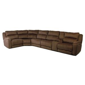 Design to Recline Tranquility 6PC Power Reclining Sectional