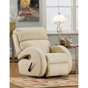 Southern Motion Deco Customizable Rocker Recliner with Track Arms - Actual Recline Handle/Button May Differ From What is Shown