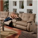 Southern Motion Dodger <b>Power</b> Console Sofa - Item Number: 698-28 PWR