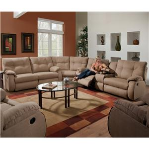 Design to Recline Dodger Reclining Sectional Sofa