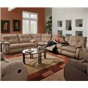 Southern Motion Dodger Reclining Sectional Sofa - Item Number: 698-30+83+28