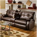 Southern Motion Dodger Console Sofa - Item Number: 698L-28