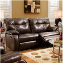 Belfort Motion Jordan Plush Pillow Top Reclining Sofa
