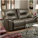 Belfort Motion Dynamo Double Reclining Rocking Loveseat - Loveseat Shown May Not Represent Exact Features Indicated