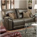 Southern Motion Dynamo Double Reclining Loveseat with Pillows  - Item Number: 590-22