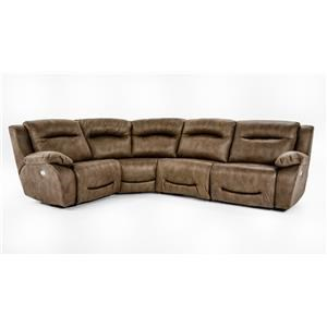 Southern Motion Eclipse 4 Pc Power Reclining Sectional