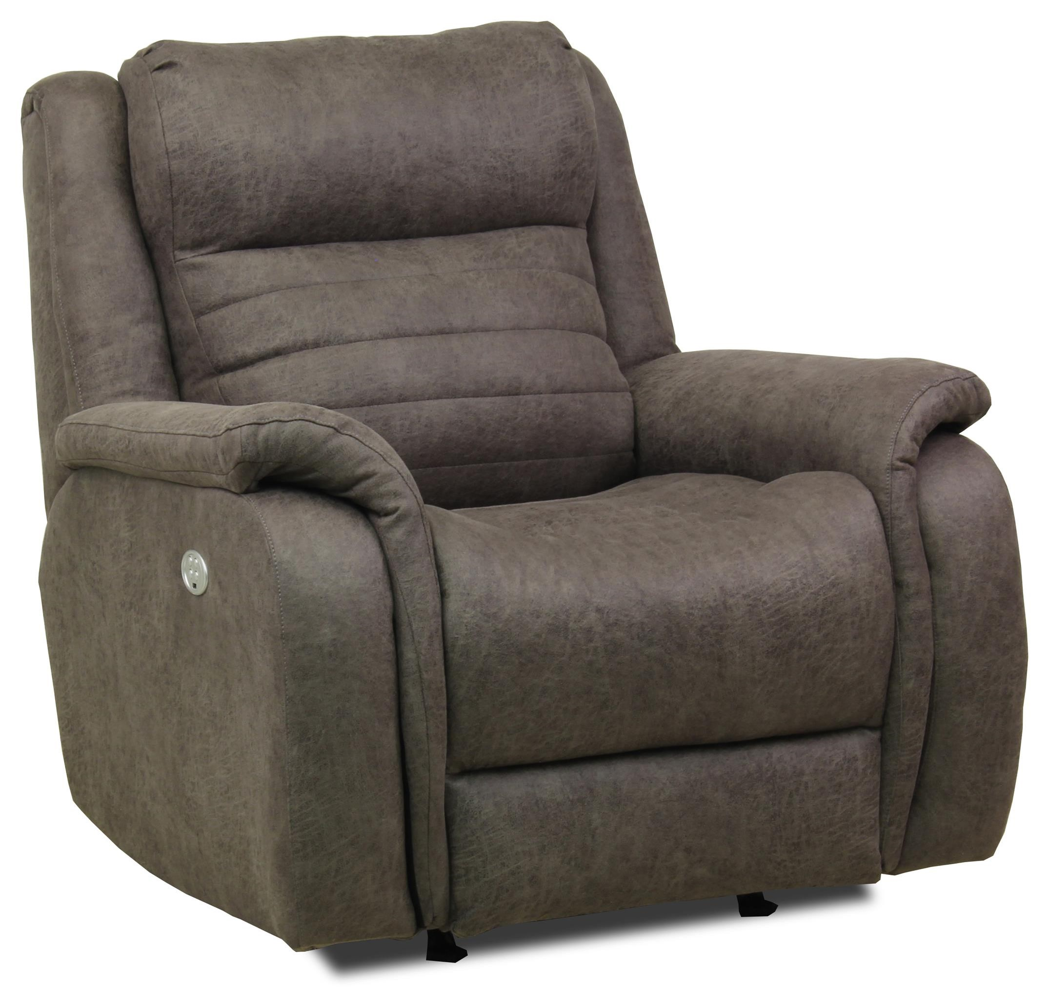 Essex Wireless Power Headrest Rocker Recliner by Southern Motion at Ruby Gordon Home