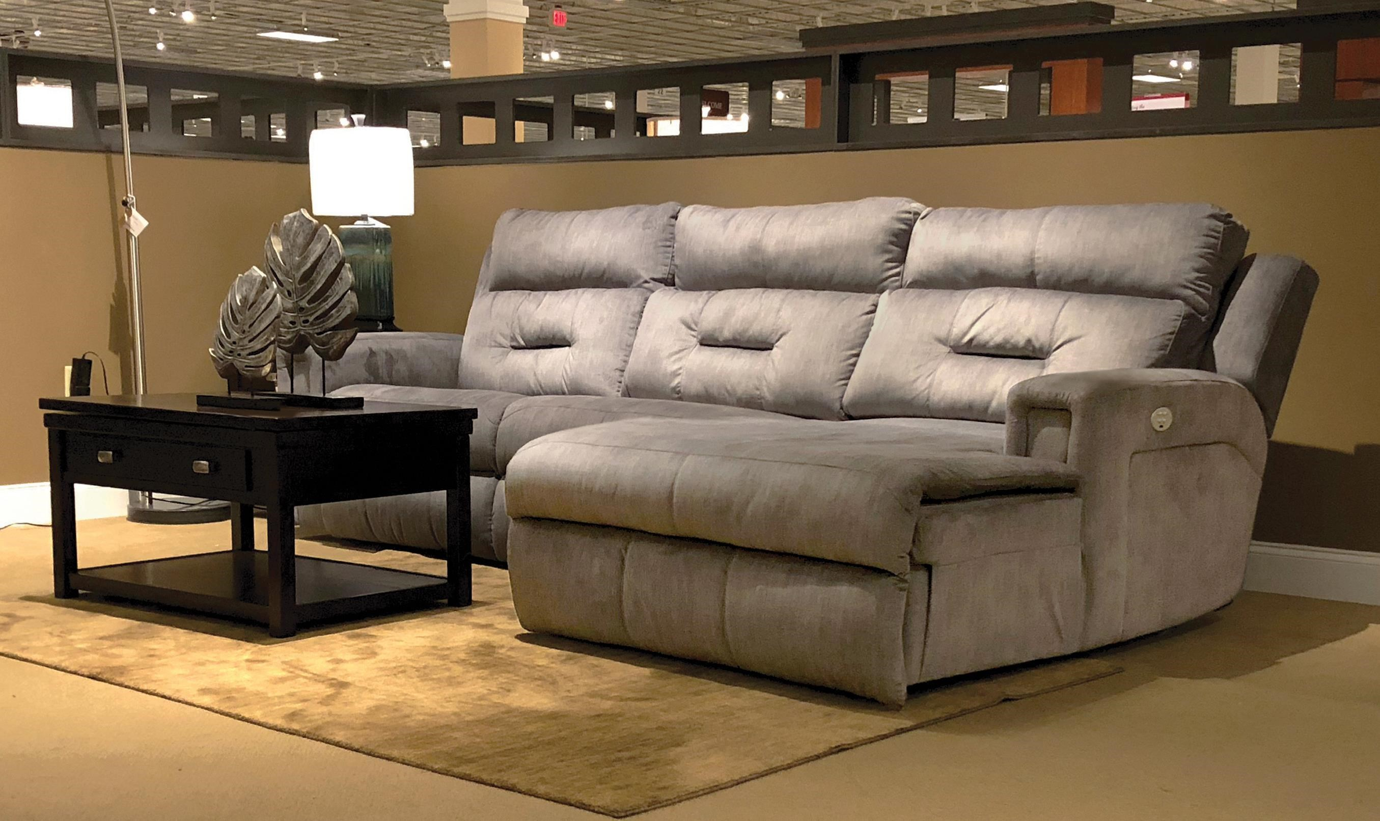 excel 3 piece power sectional by Southern Motion at Johnny Janosik